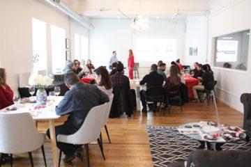 Plutus Foundation Grant Writing Room Photo