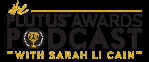 Plutus Awards Podcast With Sarah Li Cain Logo