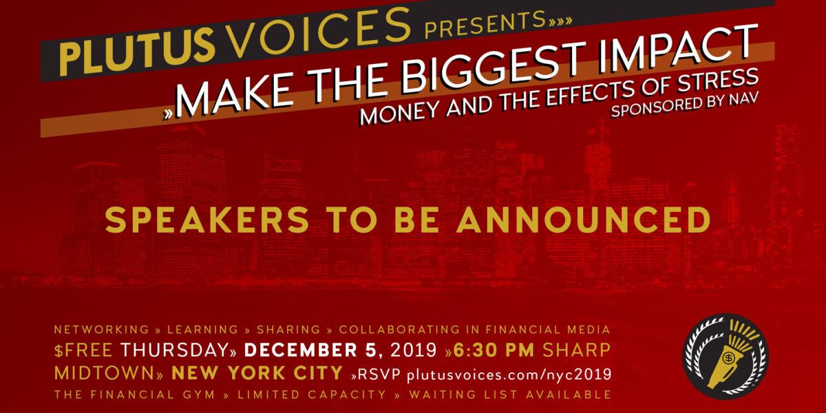 Plutus Voices New York City